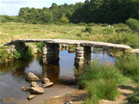 Post Bridge on Dartmoor - Places to go in Plymouth